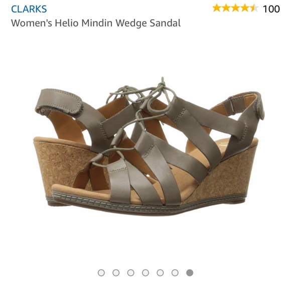 50239b74596d Clarks Shoes - ⭐️SALE⭐ Clark s Wedge Sandals NWOT
